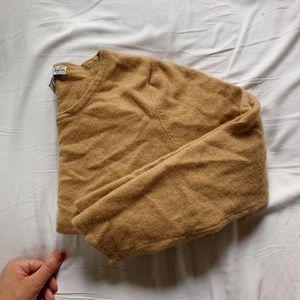 VINTAGE 100% Cashmere Nude Sweater